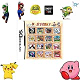 318 in 1 Game Cartridge, DS Game Pack Card Compilations, Super Combo Multicart for Nintendo DS, NDSL, NDSi, NDSi LL/XL, 3DS, 3DSLL/XL, New 3DS, New 3DS LL/XL, 2DS, New 2DS LL/XL