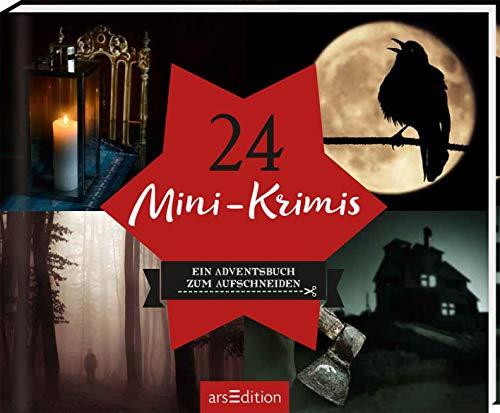 24 Mini-Krimis: Ein Adventsbuch zum Aufschneiden (Adventskalender)