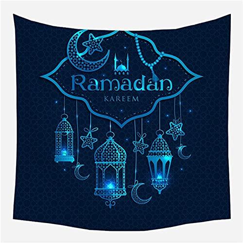 KHKJ Tapiz de Ramadán Manta para Colgar en la Pared Toalla de Playa de Viaje Servilleta Salvaje Nueva tapices de Pared Decorativos de Granja Moderna A3 230x180cm