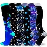 Best Knee High Compression Socks - Compression Socks for Women & Men 20-30mmHg Best Review
