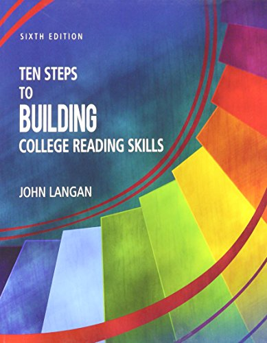 Compare Textbook Prices for Ten Steps to Building College Reading Skills 6th Edition ISBN 9781591944645 by John Langan
