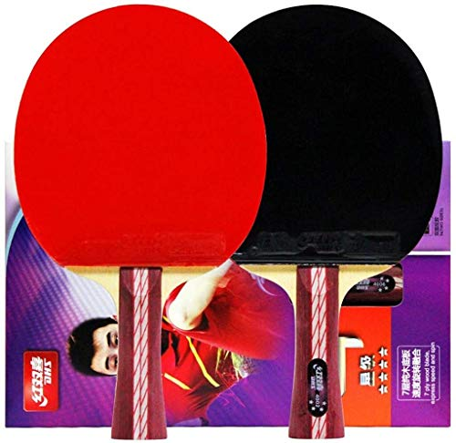 Buy Bargain CHENXU Pong Paddle Set Ping Pong Paddle Set Table Tennis Ball Set Premium Ping Pong Padd...