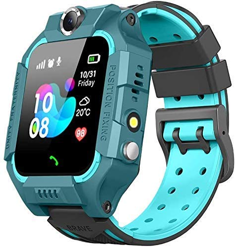 AMAYAA Kid's GPS Anti-Lost Children Safety Tracker Band Smartphone Smartwatch for Android/iOS (Random Colour )