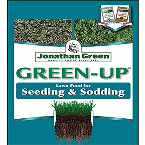 Jonathan Green & Sons, 11543 Green Up 12-18-8, Seeding & Sodding Lawn Fertilizer, 15000 sq. ft.
