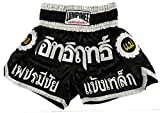 Lumpinee Muay Thai Kick Boxeo Pantalones Boxeo Tailandes : LUM-002 Talla L
