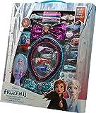 Frozen- Set 34 pzas Pelo con Cepillo 2 Sets de cosmética y joyería (KIDS 20564) , color/modelo...