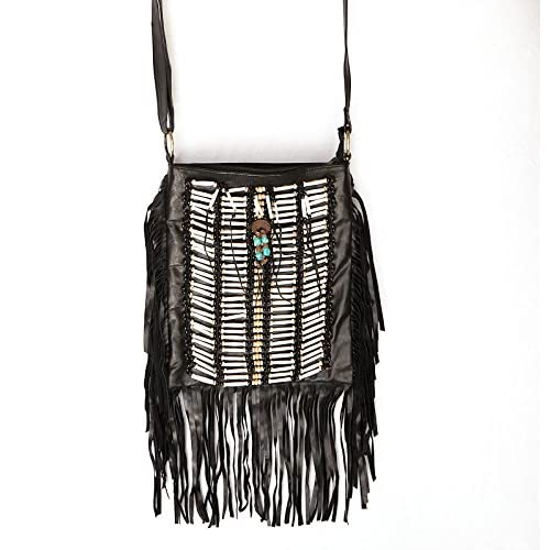 0ffa77d2e5fb Black Fringe Purses and Handbags  Amazon.com