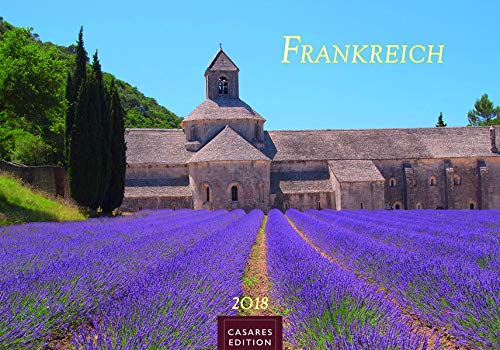 Wandkalender Frankreich 2018