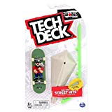 TECH DECK Street Hits World Edition Limited Series Flip Skateboards Matt Berger Sprite Complete Fingerboard and Arched Rail Obstacle