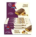 Atkins Endulge Peanut Caramel Low Carb and Sugar Snack Bar, 35 g Pack of 15