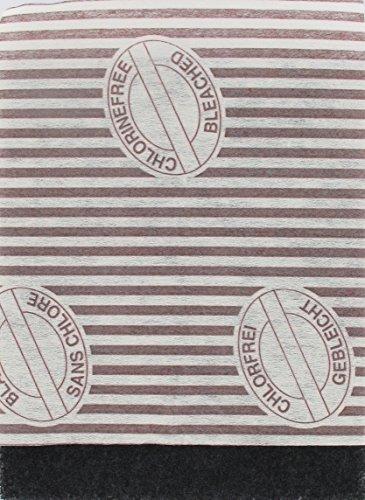 Fackelmann 55008 Filtre friteuse universel, filtre universel pour friteuse, Charbon actif, 19 x 23 cm