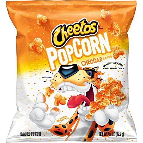 Cheetos Popcorn, Cheddar, 0.625oz Bags (40 Pack), 40 count