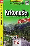 Krkonoše / Riesengebirge (Radkarte 1:60.000) (SHOCart Radkarte 1:60.000 Tschechien, Band 104)