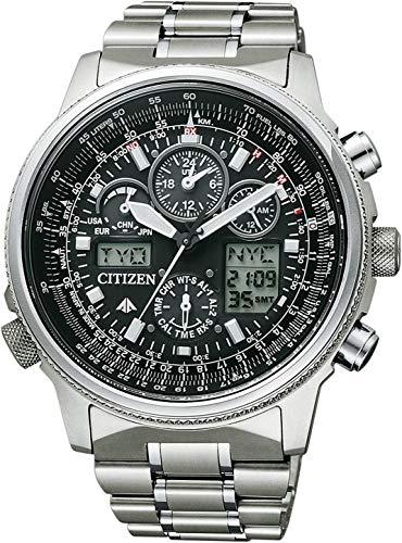 Citizen Herren-Armbanduhr Promaster Skyhawk Flieger Chronograph Quarz JY8020-52E
