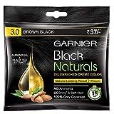 Garnier Black Naturals hair Color, Shade-3