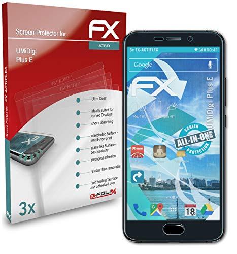 atFolix Schutzfolie kompatibel mit UMiDigi Plus E Folie, ultraklare & Flexible FX Bildschirmschutzfolie (3X)