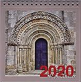Calendario mesa 2020 Romanico (Anillas)