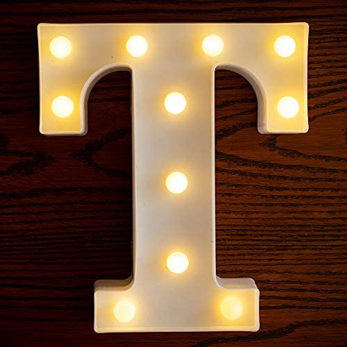 Yorulory LED Letter Lights Sign Letters Light Up Letters Sign for Night Light Wedding Birthday product image