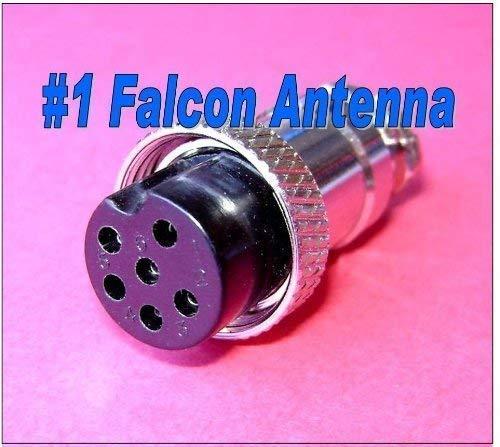 6 Pin CB Ham Radio Microphone Female Plug End
