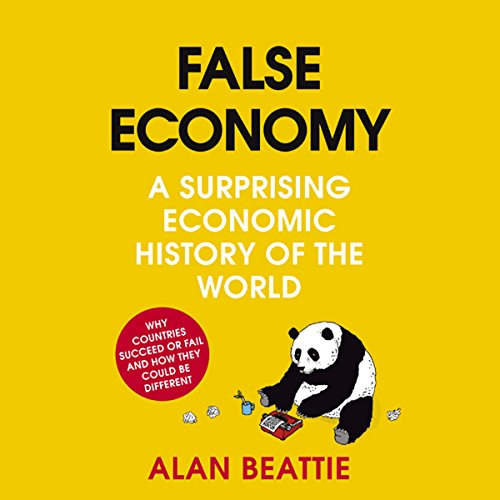 False Economy audiobook cover art