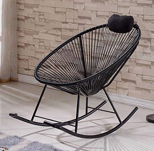 FENG Buiten balkon ligstoel/schommelstoel/eivormige rieten stoel/gepersonaliseerde meubels rotan stoel FFN