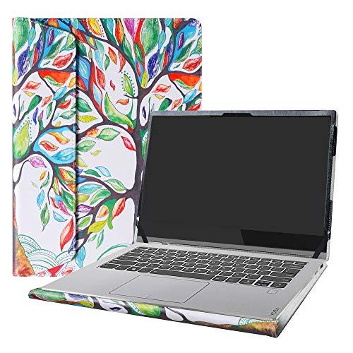 "Alapmk Protective Case for 14"" Lenovo Yoga C930 C930-13IKB & Lenovo ideapad S540 14 S540-14IWL S540-14API & Dell Inspiron 14 7400 Laptop[Not fit Yoga Book C930/Yoga C940/ideapad S540 15],Love Tree"