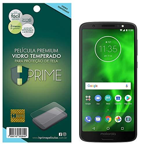 Pelicula de Vidro Temperado 9h para Motorola Moto G6, HPrime, Película Protetora de Tela para Celular, Transparente