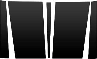 Auto Vynamics - JEP-203-MBLA - Matte Black Vinyl Hood Decal Kit - Jeep Cherokee XJ/Comanche MJ - Complete Kit - (5) Piece Complete Kit