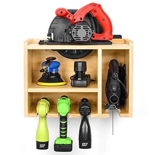 Almacenamiento de herramientas eléctricas, almacenamiento de herramientas, estante de balda con círculo...