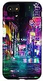 iPhone SE (2020) / 7 / 8 Cyberpunk City Sci Fi...