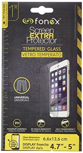 Fonex mosu5gt Protector Pantalla de Cristal Templado Universal de 4,7