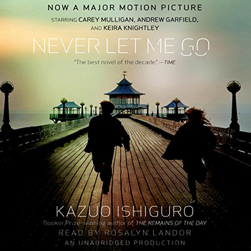 Never Let Me Go Audiobook By Kazuo Ishiguro cover art