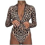 VODMXYGG Conjunto de Bikini de Mujer con Estampado Traje de baño de una Pieza con Relleno Traje de baño de Playa de baño Adecuado Viajes Playa 0916218