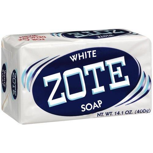 Jabón de lavandería Zote blanco, 14.1 oz
