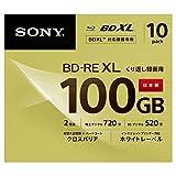 ソニー ビデオ用ブルーレイディスク (10枚パック) 日本製 10BNE3VCPS2