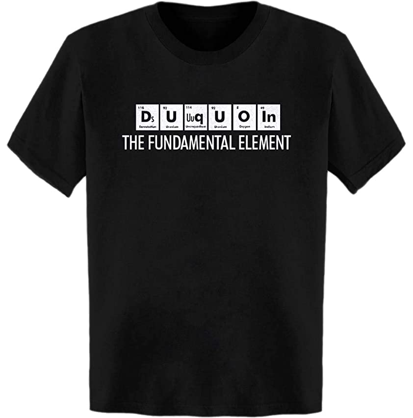 DU Quoin The Fundamental Element Periodic Table T-Shirt