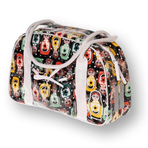 Basil Baboushka Bowling Bag Fahrradshopper Einhängetasche Für Den Gepräckträger Multifunktional Wasserabweisend Tasche 14 Liter Damen Handtasche 17429