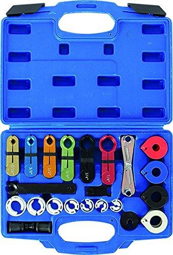 Preisvergleich Produktbild KUNZER (7AC22) Entriegelungs-Werkzeug 22-tlg. Set zur Demontage von Leitungs-Kupplungen mit Schnellverbinder