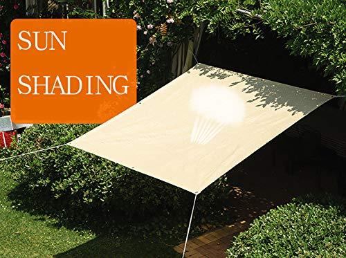 schaduwnet privacy schermbescherming Shading net isolatie netproductie schaduw metaal gat ademend tuin meerdere maten 2m×4m geel