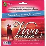 Natural Balance - M.D. Science Lab Viva Cream Stimulating Cream for Women - 3 Tubes - Pack Of 1