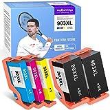 myCartridge SUPCOLOR 903XL Multipack Cartuchos de Tinta Compatible para HP 903XL 903 XL para Impresoras HP OfficeJet 6950 OfficeJet Pro 6960 6970 ( Paquete de 5)