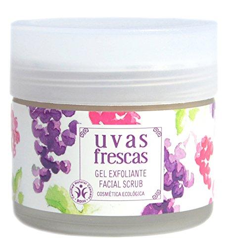 Uvas Frescas Gel Exfoliante Ecológico Revitalizante Facial
