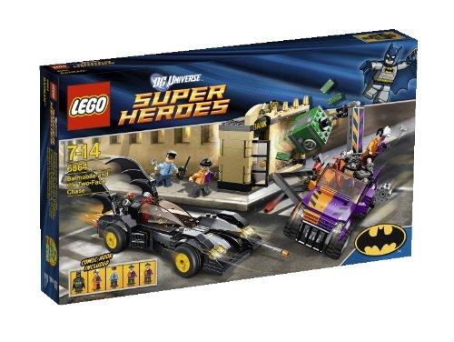 LEGO Super Heroes 6864 - El Batmovil y la Persecución de Dos Caras