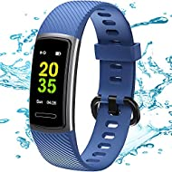 TEMINICE High-End Fitness Trackers HR, Activity Trackers Health Exercise Watch with Heart Rate and S...
