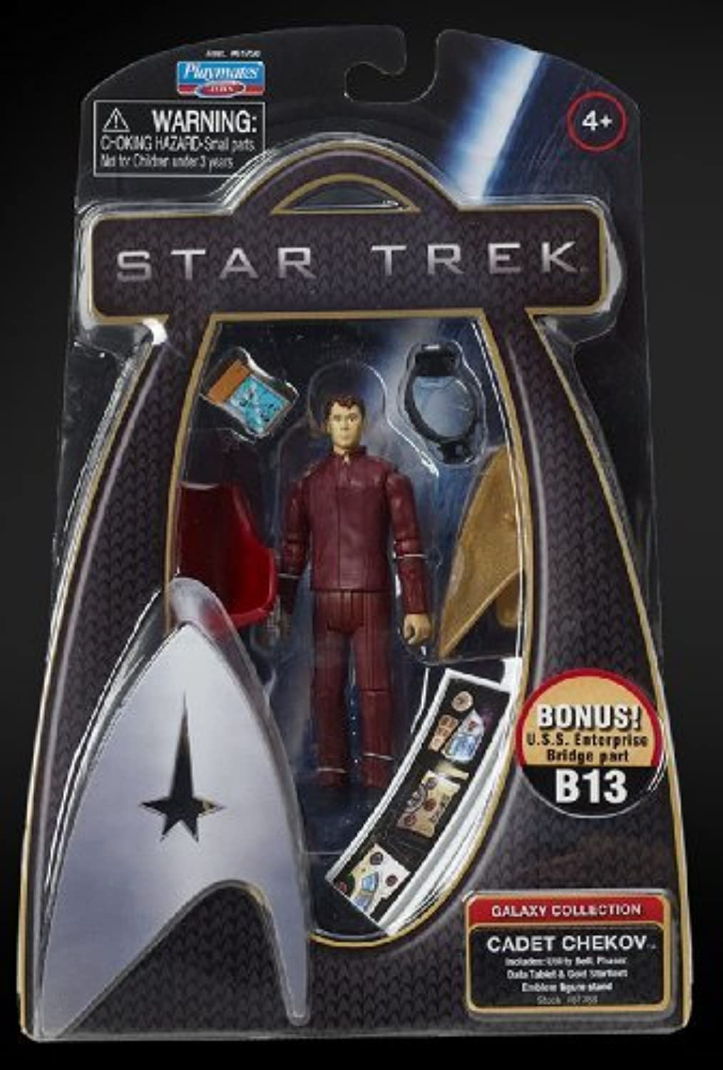 Chekov Star Trek Action Figure Academy Uniform Galaxy Collection by Star Trek
