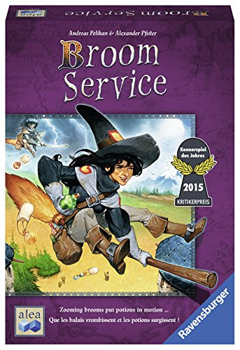 Ravensburger Broom Service - Strategy Game by