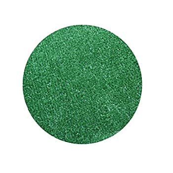 Koeckritz Rugs 5  Round - Green - Economy Turf/Artificial Grass  Light Weight Outdoor Rug - Easy Maintenance - Just Hose Off & Dry! - 8 Colors to Choose from
