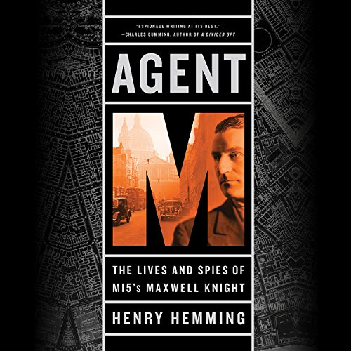 Agent M audiobook cover art