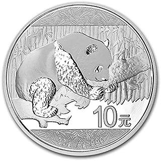 2016 Chinese Silver Panda Coin BU 30 Gram
