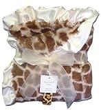 Max Daniel Baby Throw Blanket - Ivory Giraffe